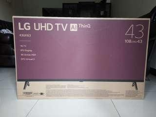 LED Smart TV UHD 4K - LG 43UK6300PTE