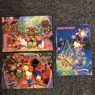 Sanrio 1990年 全圖三本$88 Puroland 大簿 (little twin stars tuxedo Sam hello kitty minna no tabo 浣熊日記 kerokerokeroppi my melody 狗男女 hangyodon 水怪)