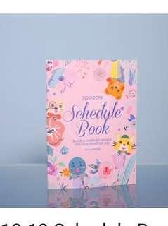 2019 schedule book EVI 記事簿