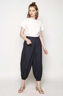 Celana Cotton Ink - Navy Siona Pants