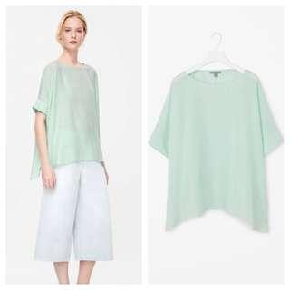 COS Asymmetric Blouse