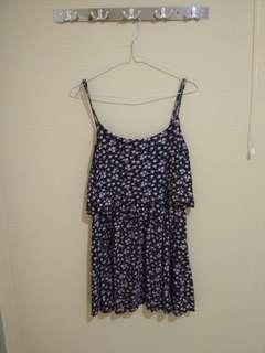 Dress Bunga Size M