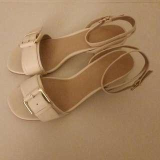 ASOS Gorgeous Beige / Cream Sandals
