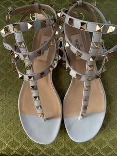 Authentic Valentino Rockstud Sandals Size 36.5