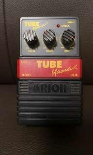 Arion Tube Mania 80's Vintage Japan Overdrive Distortion 電結他單塊效果器地雷仔 日本製