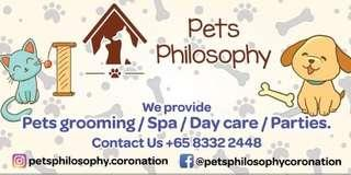 Pet Grooming Spa and parties