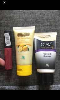 Lipstick nyx dan face wash