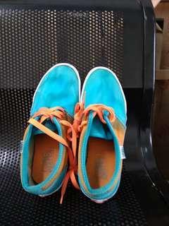 Sepatu vans blue orange