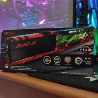 GEIL EVO X 2400Mhz 8GB (Dual Channel Kit)