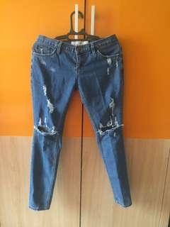 Ripped jeans gaudi