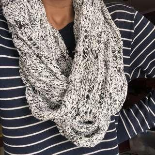 Marble wrap around scarf