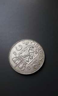 荷蘭2.5盾銀幣一個極美包郵
