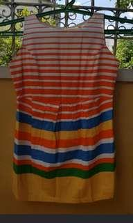 Stripes party dress