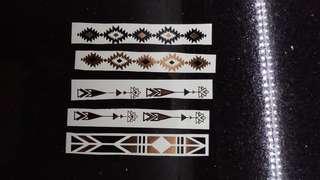 Temporary Tribal Party Tattoo Set from Lovisa