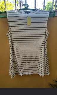 Ribbed cotton Stripes Dress
