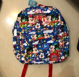 迪士尼 正品 米奇 美妮 高飛 背囊 Disney Backpack Mickey Minnie Goofy 小學 中學 幼稚園 開學 書包 秋季旅行 聖誕禮物 交換禮物