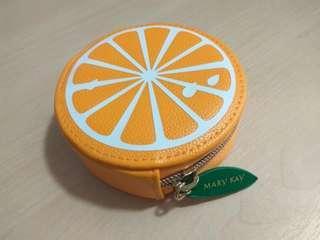 Mary Kay Orange Pouch