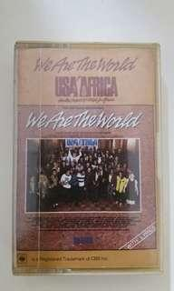 We are the world cassette