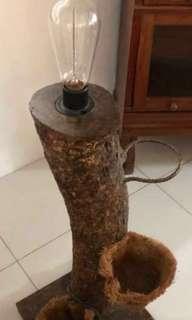 SALE PRICE! Banaue Log Floor Lamp