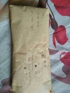 Resi & paket terkirim