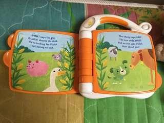 Vtech plush toy and vtech ebook