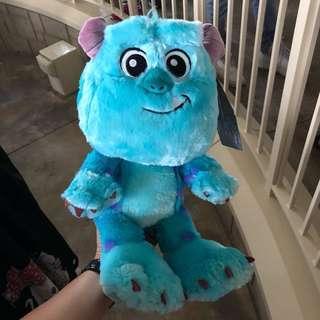 全新 毛毛 怪獸公司 monster 30cm Disneyland 香港迪士尼 攤位遊戲大獎