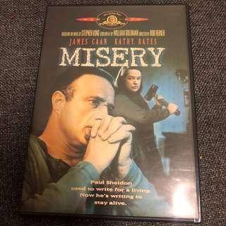 Misery 戰慄遊戲 DVD 中文三區 史提芬金 早期絕版