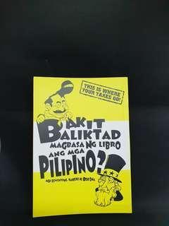 Bakit Baligtad Magbasa ng Libro Ang Pilipino?