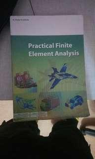Preloved book Practical finite element analysis
