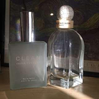 Authentic Balenciaga and Clean Perfume Set