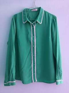 Mint Top Green