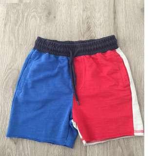 Cotton On Red & Blue Shorts
