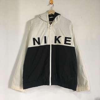 Vintage 90's Nike Two Tone Hoodie Jacket