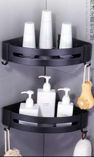 🚚 [vesak day special - 5% off] Black toiletries holder