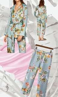 Ocean Tropical Cropped Pants