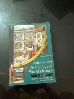 🚚 Science in Technology in World History. Textbook for history major