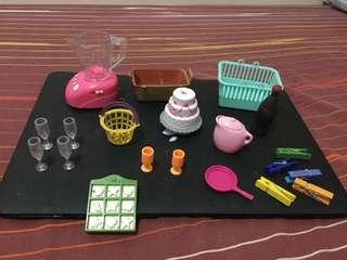 Barbie assorted accessories
