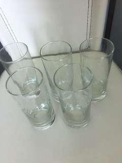 全🆕玻璃杯5只