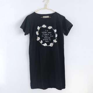 BASH Daisy Quote Shirt Dress