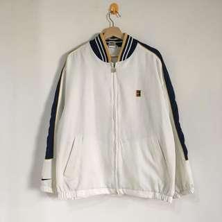 Vintage 90's Nike Agassi Sampras Tennis Varsity Jacket