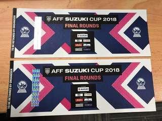 Tiket AFF MAS vs THAI