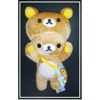 原價2268Yen 特價品七算 26cm高 Rilakkuma(鬆馳熊、鬆弛熊、輕鬆小熊、懶懶熊、リラックマ)