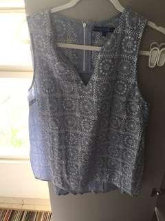 Next embroidery top