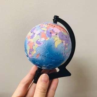 精美地球儀拼圖🧩