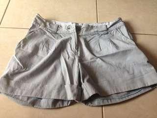Hotpants Abu-Abu