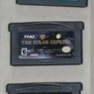 送順豐智能櫃 The Polar Express GameBoy細碟無盒 全部正版珍藏 NDS GAMES 無盒