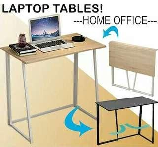 Looking For This Brown Pine Wood Wooden Colour Minimalistic Folding Foldable Computer Laptop Desk Table