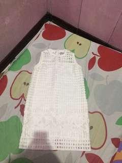 Just G white dress good as new