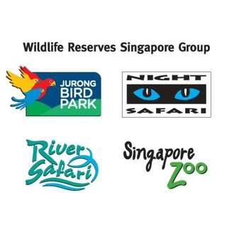 #Zoo#Night safari#River#Jurong Birds Park