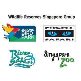 #Zoo#Night safari#River#Jurong Birds Park